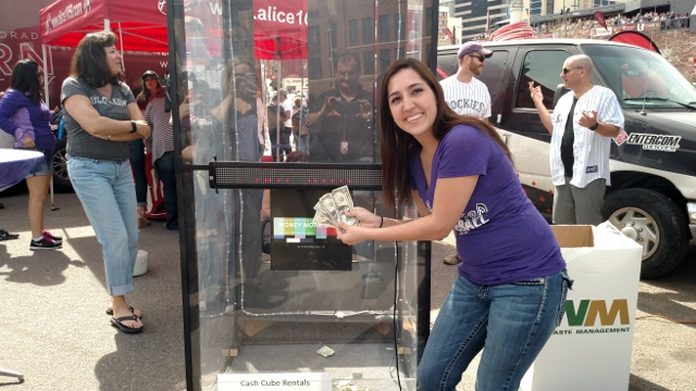 Cash Cube Money Machine
