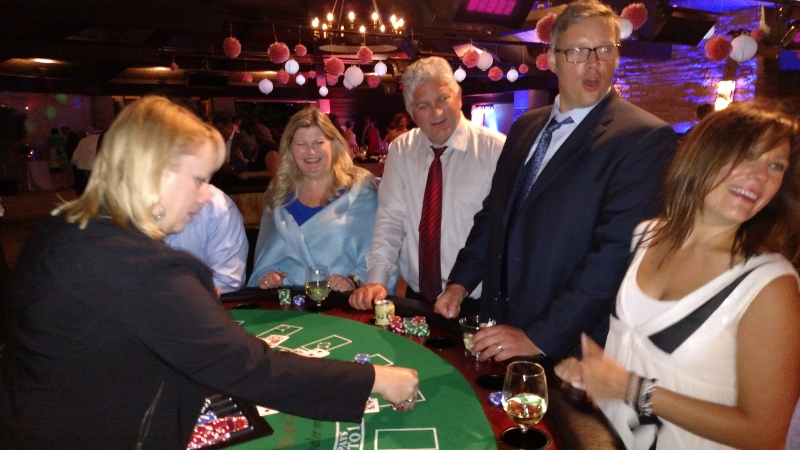 Wedding Casino Party