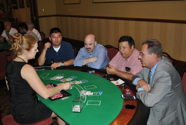 Denver Athletic Club Casino Night