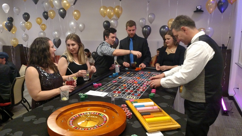 Gusto Casino Theme Party