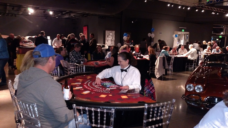 Steamboat Springs Casino Party