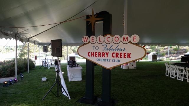 Cherry Creek Country Club Casino Night